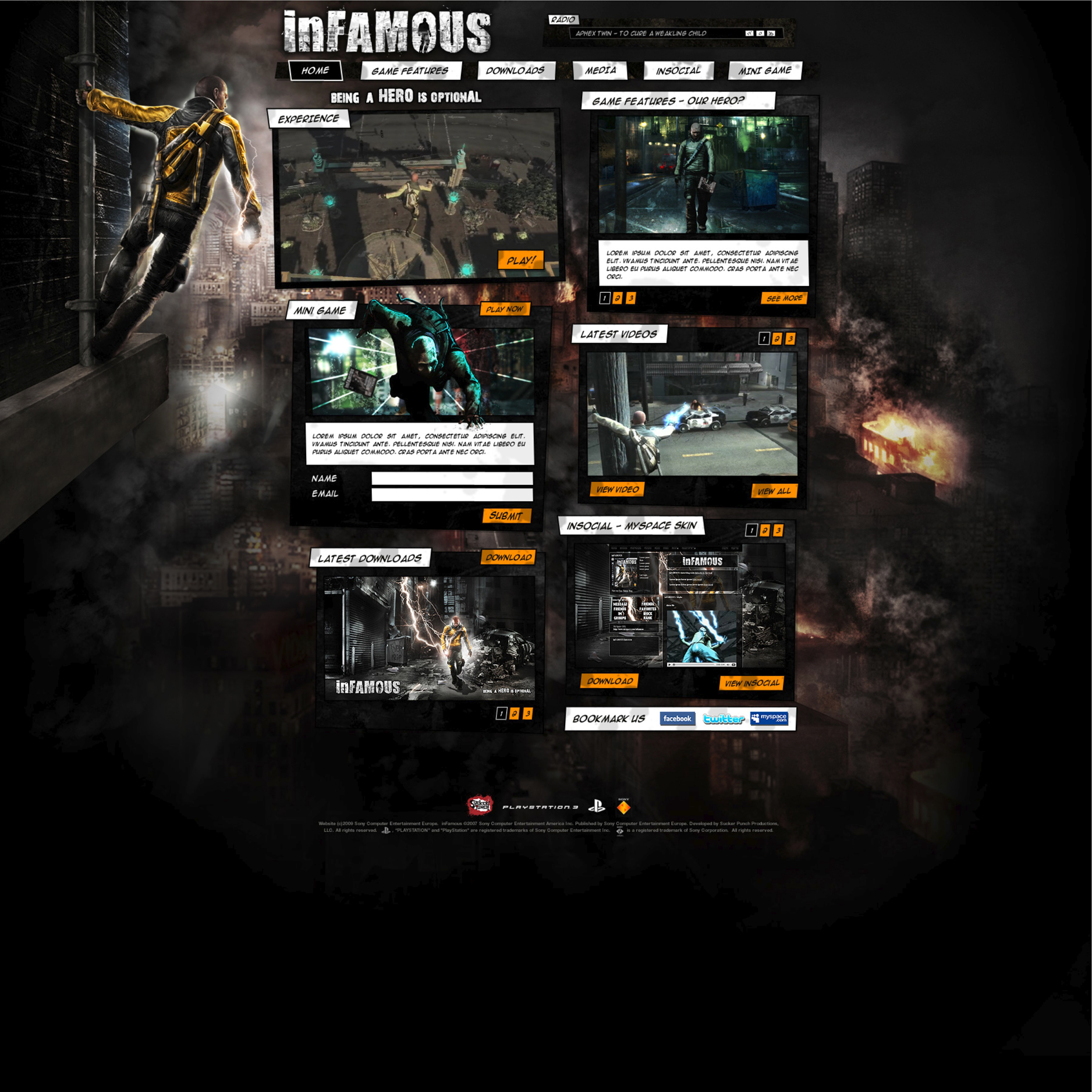 infamous 1 pc download